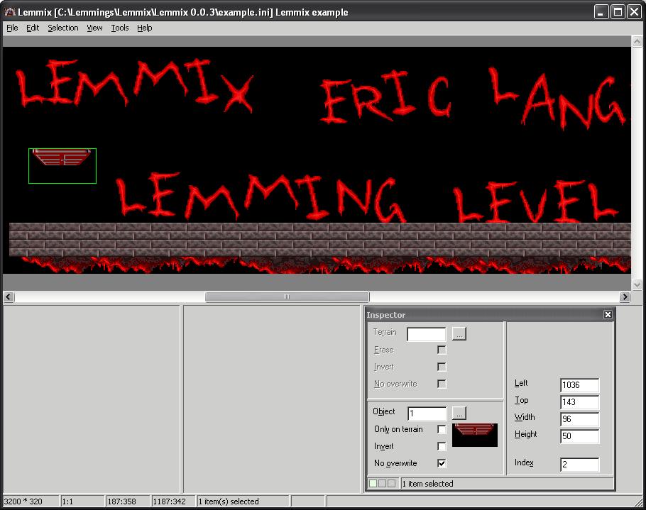 Lemmings Level Editors - The Lemmings Archive